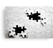 Jigsaw Canvas Print