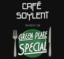 Soylent Cafe's Green Plate Special by Pig's Ear Gear