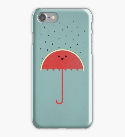 Watermelon Umbrella iPhone Case/Skin