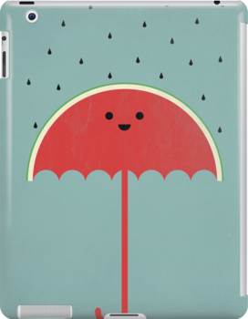 Watermelon Umbrella by filiskun