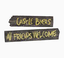 Castle Byers Kids Tee