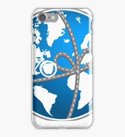 A world as a gift for cycling iPhone Case/Skin