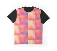 Red Orange Yellow Watercolour Graphic T-Shirt