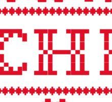 Chicago Sweater Sticker