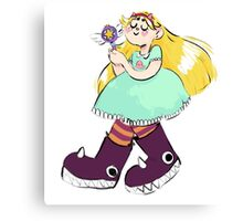 Star Butterfly! Canvas Print