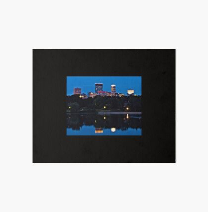 Minneapolis Reflection Art Board