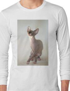 cute sphinx cat Long Sleeve T-Shirt