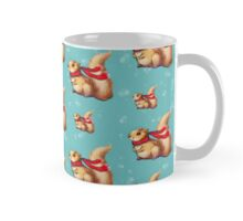 Cute Winter Squirrel in a Red Scarf Mug
