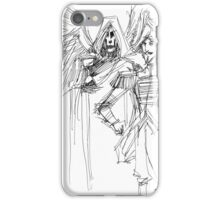 Death and The Baron iPhone Case/Skin