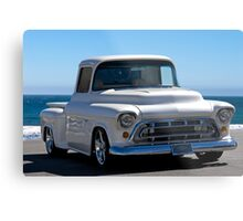 1956 Chevrolet Custom Pickup 5 Metal Print