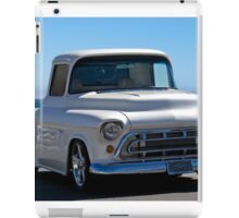 1956 Chevrolet Custom Pickup 5 iPad Case/Skin