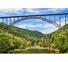 West Virginia's New River Gorge Bridge Photographic Print