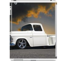 1956 Chevrolet Custom Pickup 4 iPad Case/Skin
