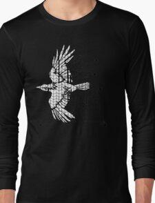 Corvus Veve (black and white) Long Sleeve T-Shirt