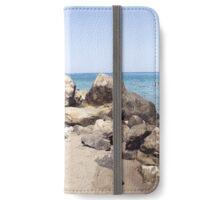Bali Beach, Crete, Greece iPhone Wallet/Case/Skin