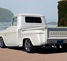 1956 Chevrolet Custom Pickup 3 by DaveKoontz
