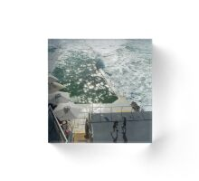 Bondi Beach icebergs Boxercise  Acrylic Block