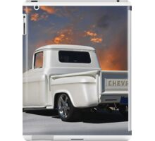 1956 Chevrolet Custom Pickup 2 iPad Case/Skin