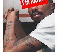 "Tupac ""Im Rare"" Supreme by ContrastLegends"