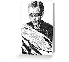 The Cosmic Doctor - Twelve  Greeting Card