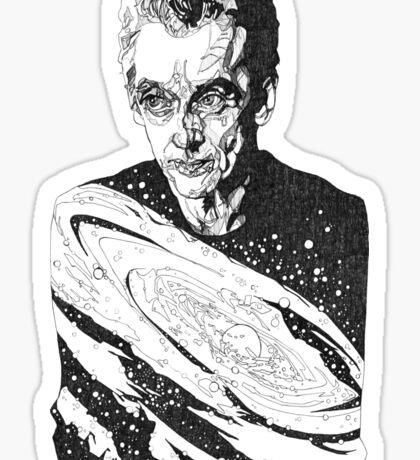 The Cosmic Doctor - Twelve  Sticker