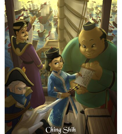 Ching Shih - Rejected Princesses Sticker