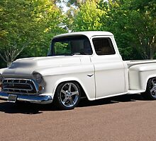 1956 Chevrolet Custom Pickup 1 by DaveKoontz