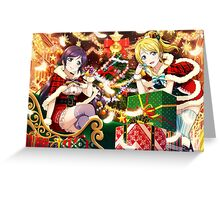 Love Live! School Idol Project - Merry Christmas from μ's! Greeting Card