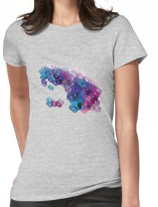 3D-blocks Womens Fitted T-Shirt