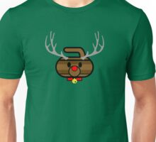 Rudolph Rocks! - Curling Rockers Unisex T-Shirt