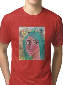 Face Up Tri-blend T-Shirt