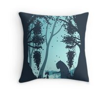 Lonely Spirit Throw Pillow