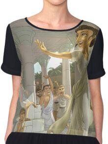 Hypatia - Rejected Princesses Chiffon Top
