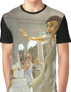 Hypatia - Rejected Princesses Graphic T-Shirt