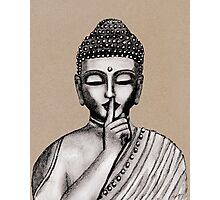 Shh ... do not disturb - Buddha - New Photographic Print