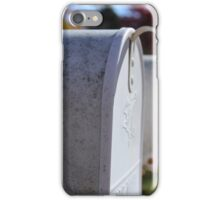 Mailboxes iPhone Case/Skin