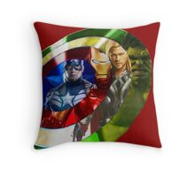 Avengers Throw Pillow