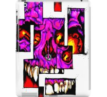 Shattered Face iPad Case/Skin
