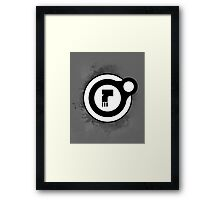Dead Orbit Chest Badge Framed Print