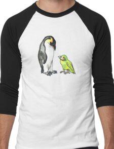 flightless friends Men's Baseball ¾ T-Shirt