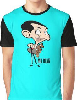 Mr Bean - Cartoon Graphic T-Shirt