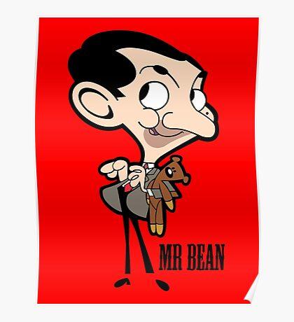 Mr Bean - Cartoon Poster