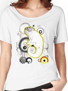 Chameleon Vector Dynasty Women's Relaxed Fit T-Shirt