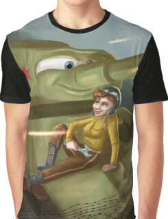 Mariya Oktyabrskaya - Rejected Princesses Graphic T-Shirt