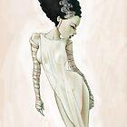 Bride of Frankenstein by CartoonPink