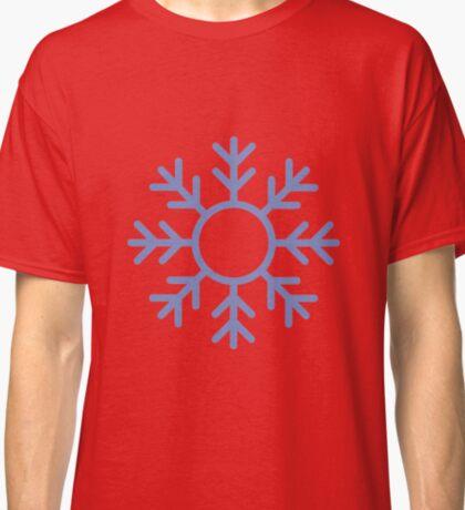 Blue Snowflake Ornament Classic T-Shirt