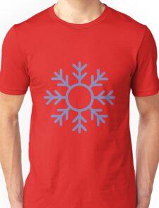 Blue Snowflake Ornament Unisex T-Shirt