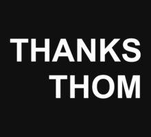Radiohead- Thanks Thom (White) by You Fuck