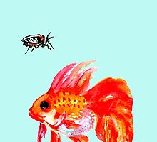Cicada and Goldfish by Ashley Peppenger