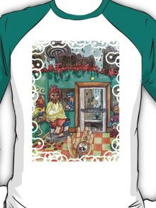Metallic Pudding Illustrated T-Shirt